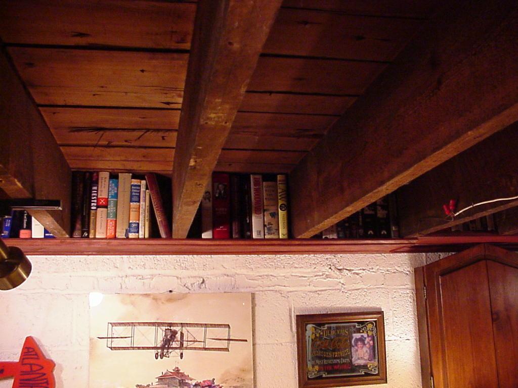 ceiling shelf. Black Bedroom Furniture Sets. Home Design Ideas
